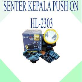 SENTER KEPALA PUSH ON HL-2303