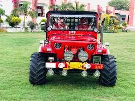heavy look big tyres open modified jeeps