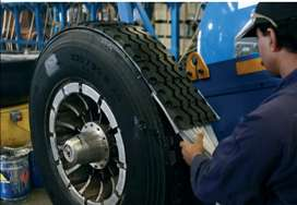 Worker Required for Tyre rebutton Company