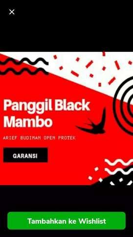 Panggil Black mambo ori suara walet Arief Budiman open protek garansi