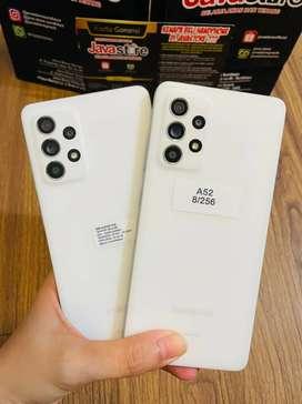Samsung A52 Ram 8/256 fullset garansi bisa TT juga