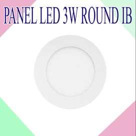 PANEL LED 3 WATT ROUND IB