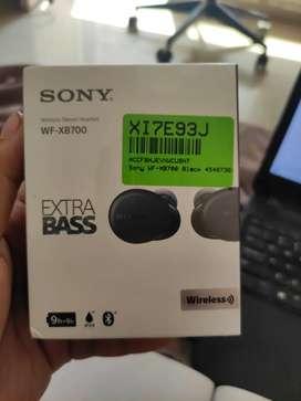 Unopened Sony Wireless Ear Pods WF-XB 700