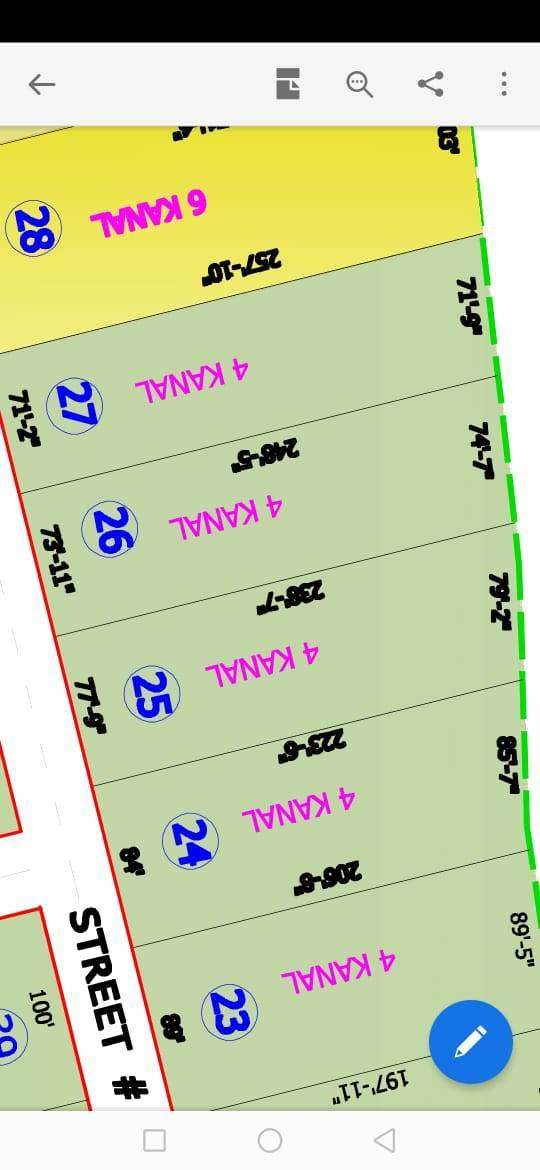 4 Kanal Farm house plot for Sale at D-14 Friend's Orchard 0