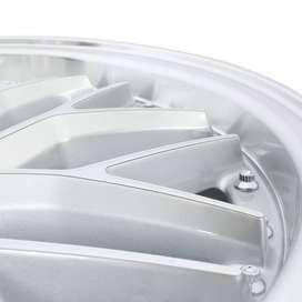 pelek cefiro HSR Sepulu Ring 17x75 H8x100-1143 ET42 Silver Machine F