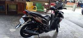 Dijual Sepeda Motor Honda Vario Techno, Grey, Tahun 2014, Plat Bjm