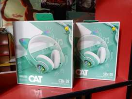 Colorful Headphones Cat Style