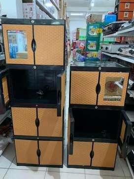 Gratis ongkir bjm - Lemari plastik 6 pintu & 8 pintu full kunci