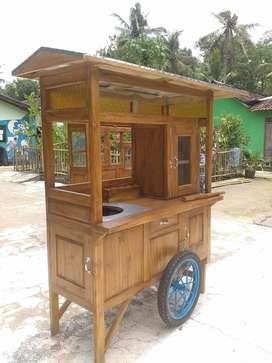 Penjual Gerobak Mie Ayam Soto Bakso Murah Bagus