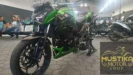 Kawasaki Z250 2016.Km4rb.Jarang Pakai.Simpanan.Warno Mustika Kepuh