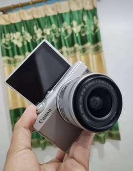 Canon eos M100 + kelengkapannya
