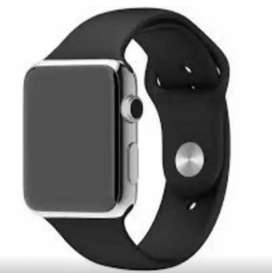 Smart watch in black colour