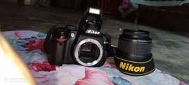 Nikon D3000 Digital SLR Camera 9/10 Neat Condition