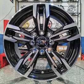 Velg HSR Merkin R14x6,5 Lubang 4x100 4x114,3 Untuk Mobil Agya Ayla