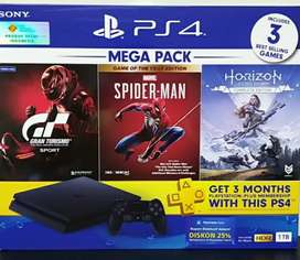 PS4 SLIM 1TB MEGAPACK PROMO!!