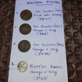 Old Coins Collection (Indian and Foreign)