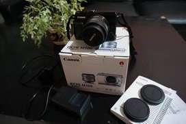 Canon EOS M100 (baru 2 bulan/mulus)