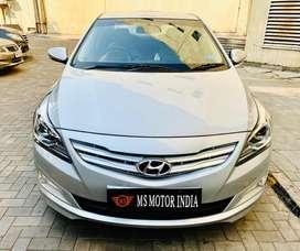 Hyundai Verna Fluidic 1.6 CRDi SX, 2017, Diesel