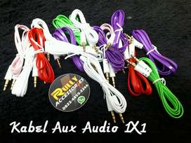 kabel Aux Audio 3.5mm full Color 100cm