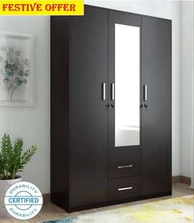 S. Newly made stylish 4 door wardrobe at factory rate from Caspian Fur