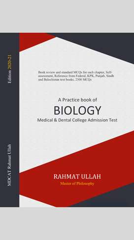 A practice book of Biology for MDCAT