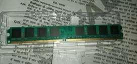 2 GB ram in  1gg × 1gb
