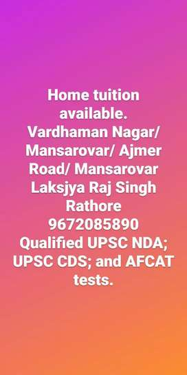 Contact for Home Tuitions