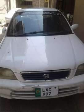 Honda City Car for Sale Lahore Number..