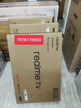 BRAND NEW REALME 32 ANDROID LEDTV @13999