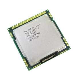 Processor Intel i5-750 + Fan