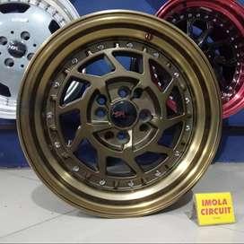 velg mobil brio celong ring 15 bronze ready