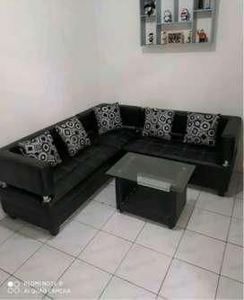 sofa sudut minimalis oscar antar sampai tempat cod di tempat