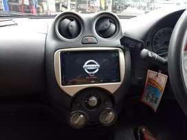 Plug n play HU tv for Nissan March tanpa potong kabel