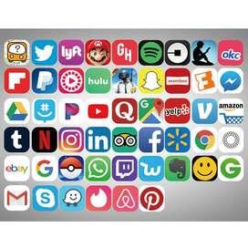Social Media Posting - Post ad in Social medias.