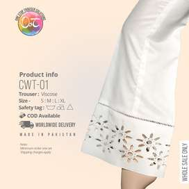 Ladies trousers whole sale/ manufacturers