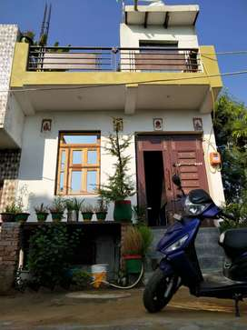 2BHK house with Basement and Open terrace