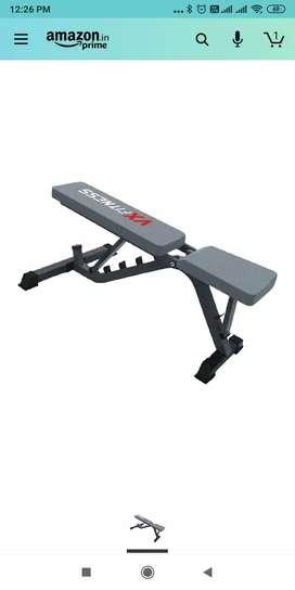 Adjustable heavy duty branded bench