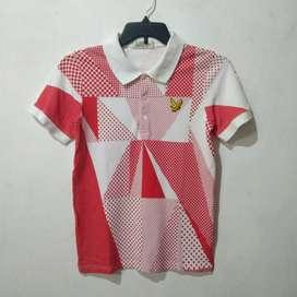 01 Kaos Polo Shirt LYLE&SCOTT Second Original 101%