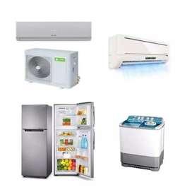 Servis panggil elektronik ac/mesin cuci/kulkas