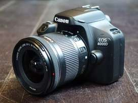 Kredit camera canon 4000D tanpa dp hanya biaya admin,gratis 1x cicilan