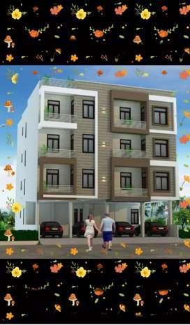 2bhk flat for sale in niwaru road, nearby dhadi ka fatk,