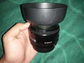 Lensa canon EF 50mm f1.8 II