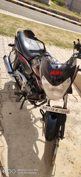 Army person going posting sell good condition bike