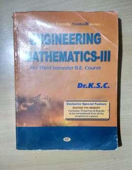 Engineering Maths 3 Text Book