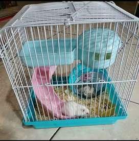 Kandang Hewan Hamster Susun Ukuran Size Medium Sedang