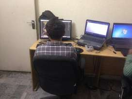Co-working space / shared office space in Muslim Town Lahore
