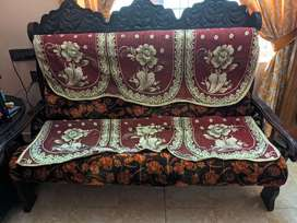 Sofa set with diwaan coat and table