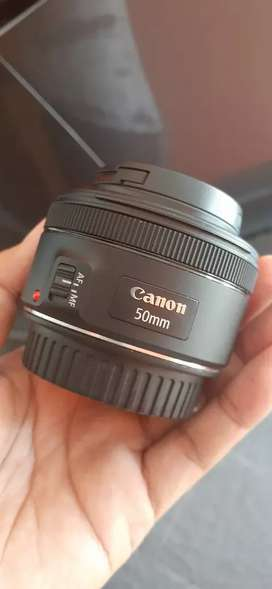 Canon 50mm stm istimewa seperti baru