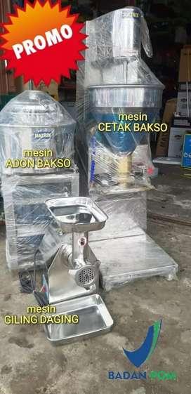 MESIN GILING ADON dan CETAK BAKSO COD PESANGGRAHAN