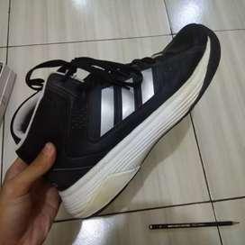Adidas basket hitam ilation Mid 100% original